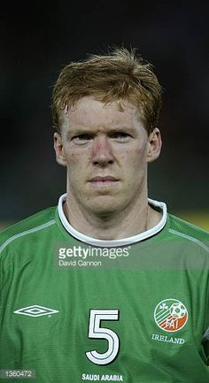 Portrait of Steve Staunton of the Republic of Ireland before the FIFA World Cup Finals 2002 Group E match between Republic of Ireland and Saudi...