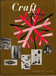 Craft Horizons November/December 1954 Designed by Sydney Butchkes.