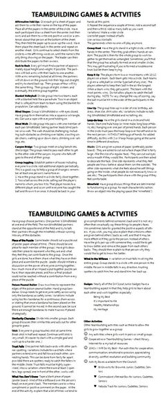 Group Games For Kids Teamwork Team Building Exercises 56 Super Ideas Leadership Activities, Therapy Activities, Team Activities, Physical Activities, Movement Activities, Classroom Team Building Activities, Student Leadership, Bonding Activities, Grammar Activities
