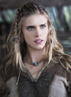 Interview: Gaia Weiss talks playing a slave girl on History's hit 'Viking' show