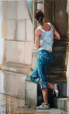Kai Fine Art is an art website, shows painting and illustration works all over the world. Human Painting, Figure Painting, Watercolor Portraits, Watercolor Art, Indian Art Paintings, Figure Sketching, Realistic Paintings, Art For Art Sake, Portrait Art