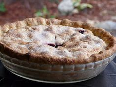 Thibeault's Table: Classic Blueberry Pie