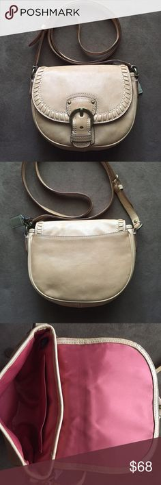 Selling this Coach Crossbody Purse on Poshmark! My username is: carleen_hu. #shopmycloset #poshmark #fashion #shopping #style #forsale #Coach #Handbags