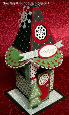 Stampin' Up Petal Cone Die Christmas Cottage OMG It's Fabulous