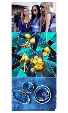 """""""BLUE"""" by myclosetconspiracy ❤ liked on Polyvore featuring art"""