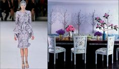 fashion and decor -   alexander mcqueen and elle decor