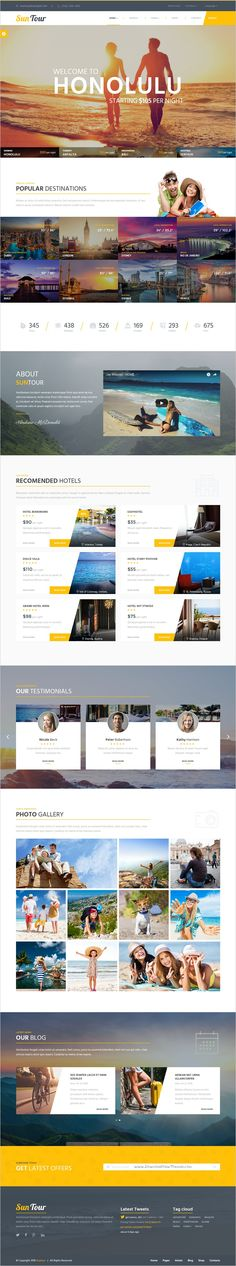 SunTour is a unique and modern #Bootstrap HTML #template for creative #travel agency website download now➯ https://themeforest.net/item/suntour-creative-travel-agency-html-template/17042939?ref=Datasata