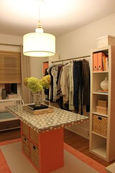 diy: turning a spare bedroom into a dressing room (on a budget)