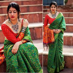Item - 1 PC Brocade Silk Saree with unstitched Blouse. Green Base on Beige Colored Floral Brocade work on Saree. This Unique Saree Can Be Used For Various Crafting ideas Even if You Don't Want to Use It As A Saree. Beautiful Girl Indian, Beautiful Saree, Beautiful Indian Actress, Indian Beauty Saree, Indian Sarees, Pakistani, Lehenga Choli, Anarkali, Saree Models