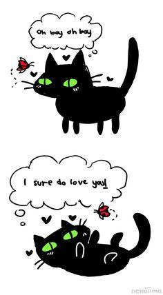 """nekojiima: Cute Ladybug Comic """"  """""""
