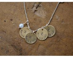 Birthdate Necklace for Mommy
