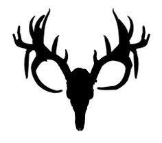 dear skull deer skull image vector clip art online royalty free rh pinterest com floral deer skull clip art buck deer skull clipart