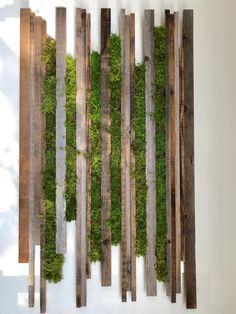Excited to share this item from my shop: Hanging garden / Moss art Vertical Garden Wall, Garden Wall Art, Vertical Gardens, Moss Wall Art, Moss Art, Walled Garden, Moss Garden, Interior Garden, Plant Wall