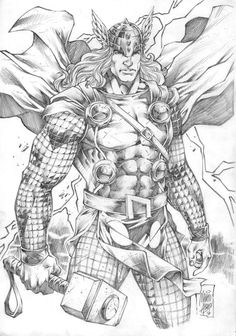 Thor by Marcio Abreu