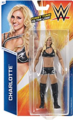 Charlotte - WWE Series 55 Mattel Toy Wrestling Action Figure #Mattel