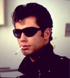 grease, hair, and John Travolta image Grease Movie, Grease 2, Danny Grease, Pulp Fiction, Grease Is The Word, Grease Hairstyles, Danny Zuko, 70s Hair, Urban Cowboy