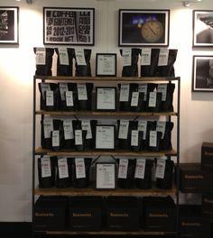 Beanworks' coffee range