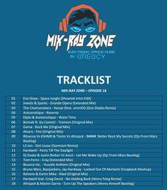 Votre Emission du Mardi 21H, Mix Ray Zone Session 18