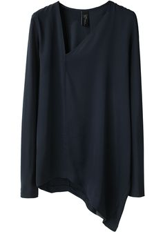 Love the asymmetric hem of this Ate Top by Zero + Maria Cornejo, $525.00