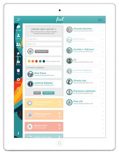 Live Messages App - because we NEED something new - by Adi Dizdarevic, via Behance