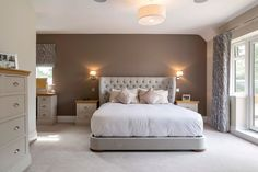 Cheltenham Property Contemporary Bedroom Sets, Modern Bedrooms, Dream Bedroom, Master Bedroom, Bedroom Inspo, Bedroom Decor, Cute House, Extension Ideas, Bathroom Ideas