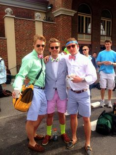 Kentucky Derby attire for REAL men. :)))