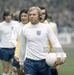 England captain Bobby Moore leads out his team prior to the... News Photo | Getty Images