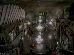 The cathedral in the Wieliczka Salt Mine - Krakow Photo Gallery - The Trusted Traveller