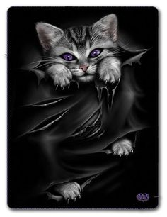 Spiral Gothic Blanket - Bright Eyes Fleece Blanket