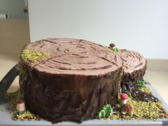 Wood Cake, Desserts, Food, Meal, Deserts, Essen, Tree Cakes, Hoods, Dessert