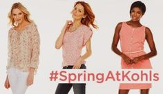 Learning About pink trends at the Kohl's Spring Fashion Hangout