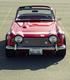 Triumph TR5. gotta love vintage.