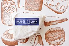 Harper & Blohm - Cheese Shop on Behance