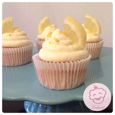 Citroen cupcakes - Lataart - www.facebook.com/lataart1