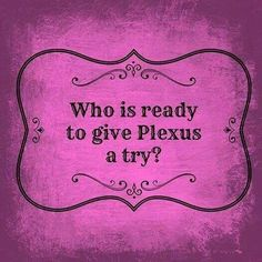 I'm ready for you to join me and be on this journey together. Check out plexus at http://randioneil.myplexusproducts.com/