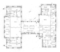 """Image from page 195 of """"Architect and engineer"""" My Home Design, House Design, Terrace Floor, Four Rooms, Portland Cement, Reinforced Concrete, Historic Homes, How To Draw Hands, Floor Plans"""