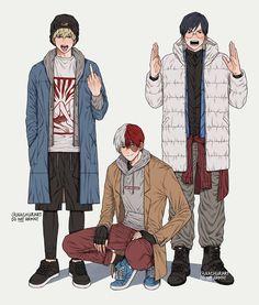 """娜@ハイステ最高 sur Twitter : """"3 different boys and 3 different styles!! Iida was trying to be intimidating and cool he tried … """""""
