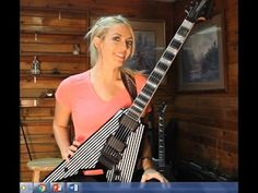 Emily Hastings: Guitar Review of the Wylde Audio Viking with Floyd Rose Electric Guitar   Here's what you guys have been waiting for! I finally had time to do a review of my precious guitar the Wylde Audio Viking with Floyd Rose Electric Guitar Black Pinstripes! I hope you guys like it :) Emily Hastings Guitar Review of the Wylde Audio Viking with Floyd Rose Electric Guitar Heavy Guitar Duo of One of the Best Classic Rock Songs Ever Emily Hastings