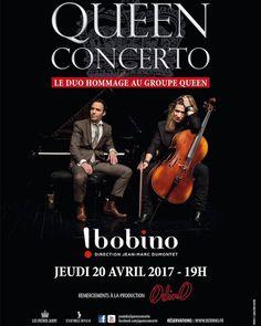 Bravo aux frères Jarry / Queen Concerto pour cette date à Bobino qui s'annonce explosive ! Save the date - Jeudi 20 avril à 19h00. Réservations : http://ift.tt/2nPzw7W