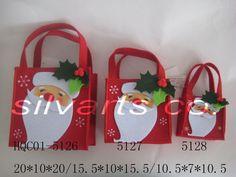 Felt Christmas Bags