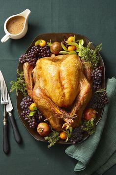 Thyme-Roasted Turkeygoodhousemag