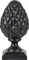 Intricately carved from black resin, this small pine cone ornament has a textured surface that's delightful to touch. Living Room Ornaments, Home Decor Sculptures, Pinecone Ornaments, Fibonacci Spiral, Window Sill, Pine Cones, Home Accessories, Bookends, Things To Come