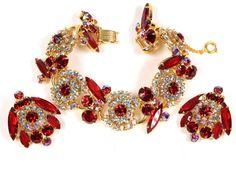 Juliana D&E Rhinestone Owl Bracelet by EmbellishgirlVintage