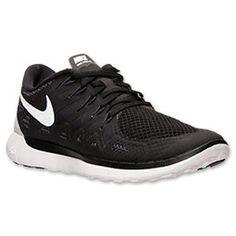 Women\u0026#39;s Nike Free 5.0 2014 Running Shoes | FinishLine.com | Black/White/