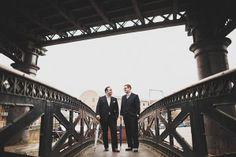 Pre-ceremony photo in Manchester