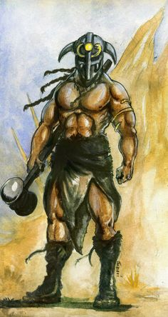 Barbarian by Blaszcecart