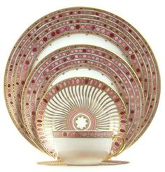 Robert Haviland and C. Parlon Syracuse Rose Limoges porcelain dinnerware