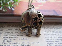 Cute elephant pendant!