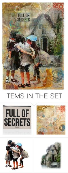"""""""*full of secrets*"""" by karineg ❤ liked on Polyvore featuring art"""