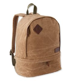 Teardrop Waxed Canvas Backpack